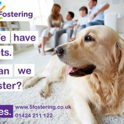 We have pets, can we foster?
