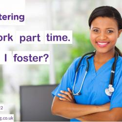 I work part time can I foster?
